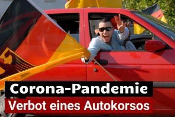 Corona-Pandemie – Verbot eines Autokorsos