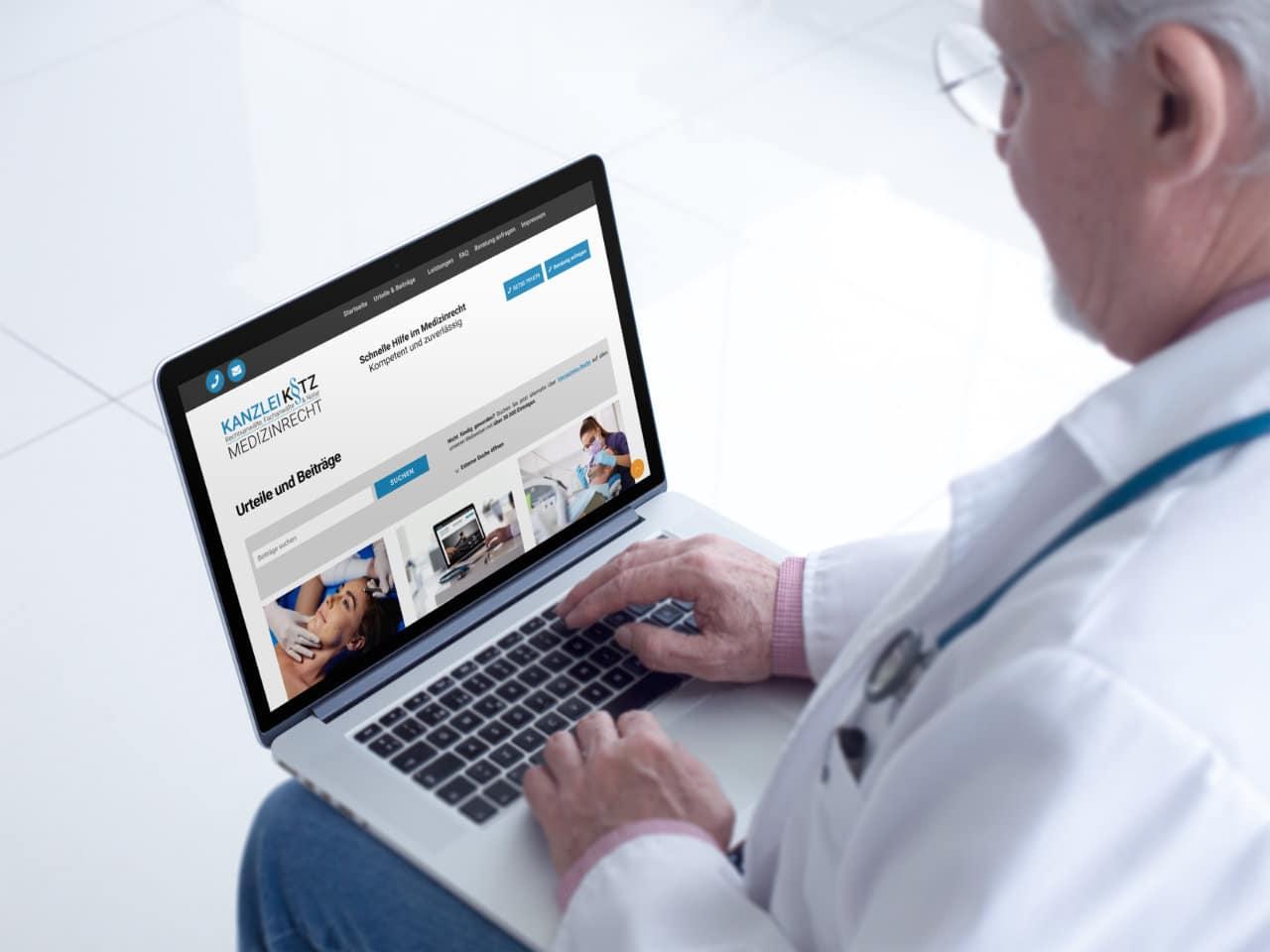 Medizinrecht Webseite