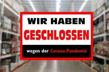 Mietminderung der Gewerberaummiete wegen Corona-Pandemie
