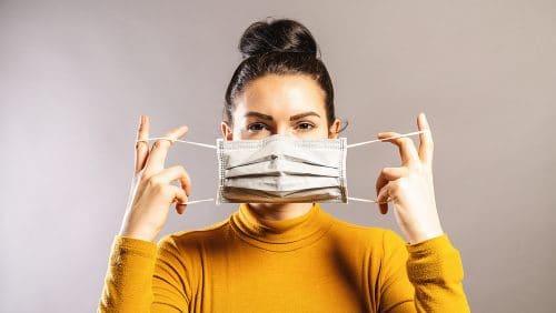 Corona-Pandemie - Verpflichtung zum Tragen Mund-Nasen-Bedeckung