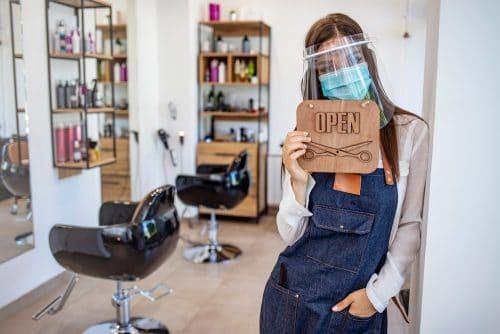 Corona-Pandemie - Schließung von Friseurbetrieben - Rechtmäßigkeit
