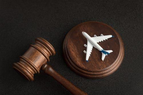 Mahnung eines in Deutschland ansässigen Luftfahrtunternehmens auf Englisch
