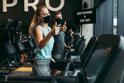 Corona-Pandemie - Untersagung Betreiben Fitnessstudios