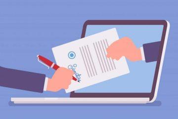 Bedürfen Schreiben der öffentlichen Verwaltung einer Unterschrift?