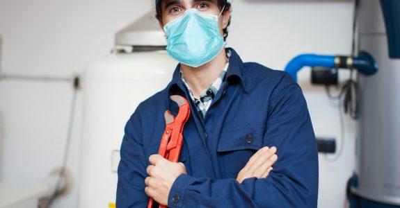 Duldung Instandsetzungsarbeiten wegen Wasserschaden während Corona-Pandemie