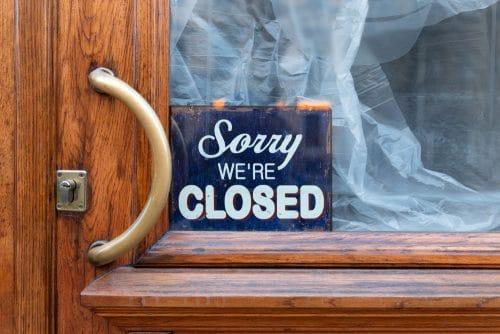 Corona-Pandemie - Schließung von Einzelhandelsbetrieben in Hochinzidenzkommunen