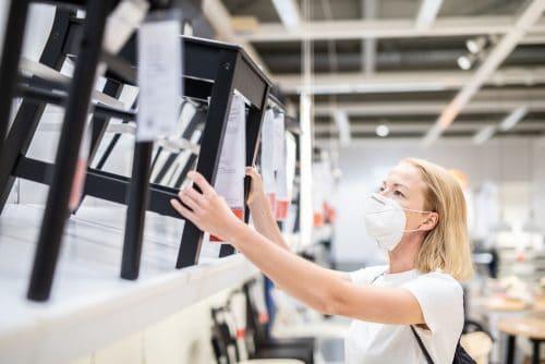 Außervollzugsetzung der Schließung von Einrichtungs- und Möbelhäusern