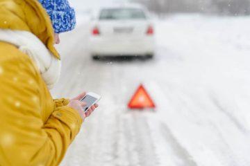 Verkehrsunfall – Kollision mit dem Gegenverkehr bei winterlichen Witterungsverhältnissen