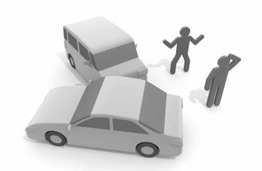 Verkehrsunfall - Indizien für einen gestellten Unfall