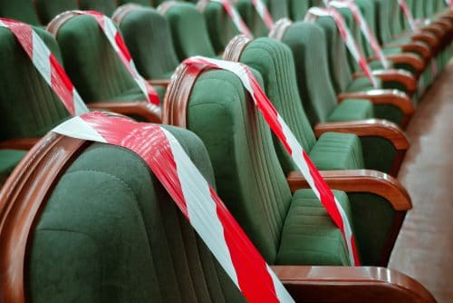 Untersagung von Veranstaltungen - Schließung von Kultureinrichtungen