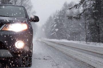 Plötzlicher Wintereinbruch – Verkehrsunfall ohne Winterreifen