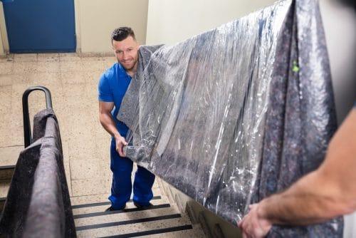 Schadensersatzanspruch gegen Umzugsunternehmer - Beschädigung Treppenhandlauf
