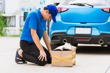 Verkehrsunfall – Schadensersatz für eine beschädigte beförderte Sache