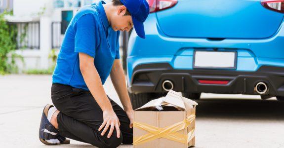 Verkehrsunfall - Schadensersatz für eine beschädigte beförderte Sache