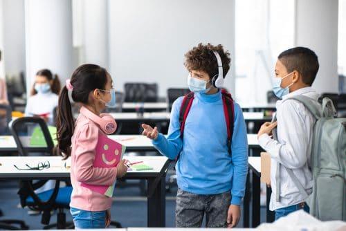 Teilnahme schulpflichtiges Kind am Präsenzunterricht bei bestehender Test- und Präsenzplicht