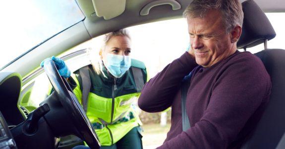 Verkehrsunfall - Anscheinsbeweis für unfallbedingte Verletzung der Halswirbelsäule