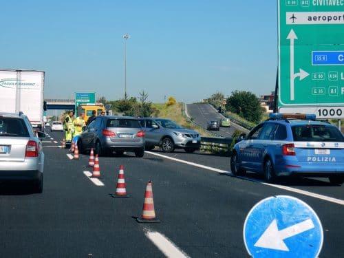 Verkehrsunfall Italien
