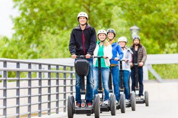 Sorgfaltspflichten eines Segwayfahrer bei Befahren eines Geh- und Radweges