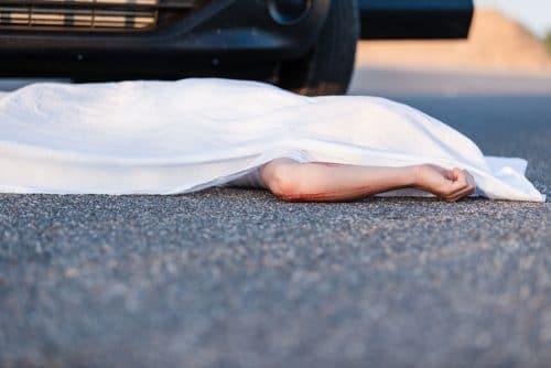 Verkehrsunfall - Tötung eines anderen Geschädigten