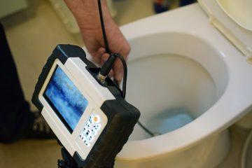 Werkauftrag zur Beseitigung einer WC-Verstopfung