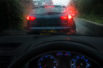 Verkehrsunfall – unklare Verkehrslage durch langsam vorausfahrendes Fahrzeug