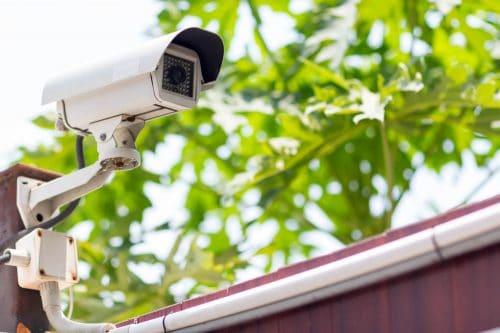 Videokamera zur Grundstücksüberwachung