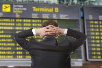 Ausgleichsleistungsanspruch eines Fluggastes wegen Flugverspätung – Gewitter am Endziel
