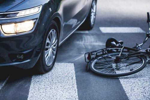 Verkehrsunfall mit Schädigung eines Fahrradfahrers